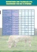 expertises des taureaux d'ia keuringen van de ki ... - Blanc Bleu Belge - Seite 4