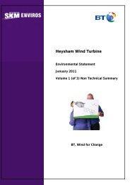 Heysham Wind Turbine - IEMA