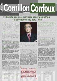 révision générale du Plan d'Occupation des Sols – PLU - Cornillon ...