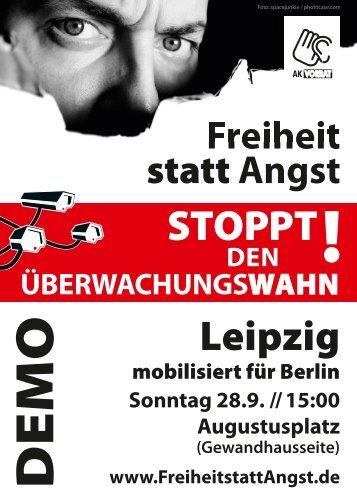 STOPPT Leipzig