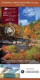 canada & new england - MSU Alumni Association - Michigan State ...