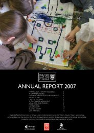 EPE Annual Report 2007 - Victoria County History