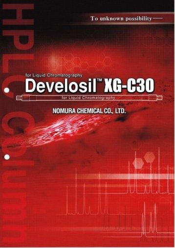 Develosil XG-C30 Phase - Hplc.eu
