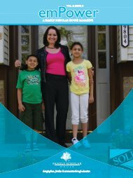 Spring, 2012 - Family Scholar House