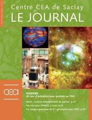 Journal de Saclay n°31 - CEA Saclay