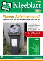 Das Kleeblatt (Ausgabe 12-2010)