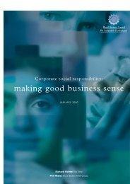 making good business sense - Global Hand