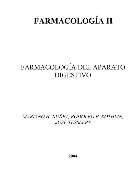 Farmacología del Aparato Digestivo - FarmacoMedia