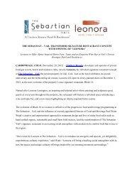 LEONORA - The Sebastian