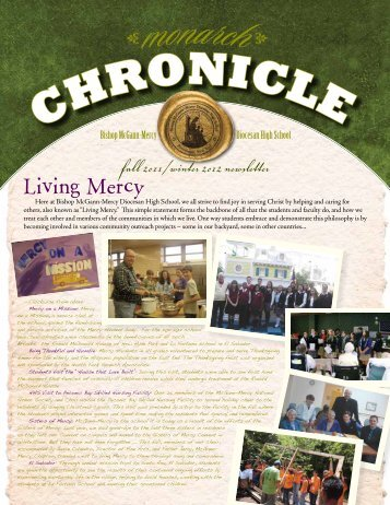fall 2011/winter 2012 newsletter Living Mercy - McGANN Mercy