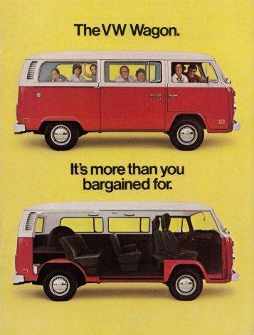 The VW Wagon.