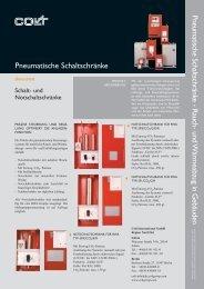 Pneumatische Schaltschränke - Rauch- und ... - Eurovent