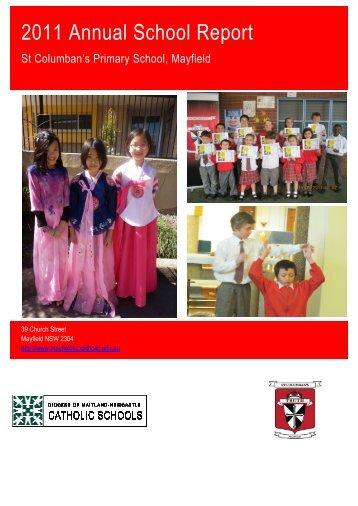 MAYFIELD St Columban's Primary School (2011) - Catholic Schools ...