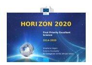 Research Infrastructures in Horizon 2020 - EuroAfrica-ICT