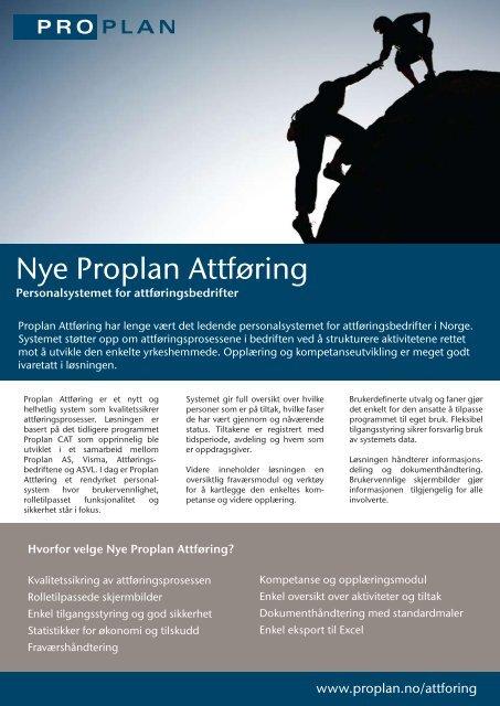 Nye Proplan Attføring - Proplan AS