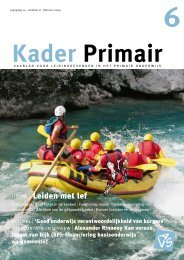 Kader Primair 6 (2008-2009). - Avs