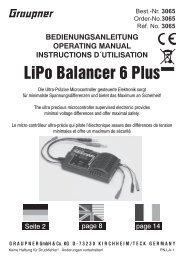 LiPo Balancer 6 Plus - Graupner
