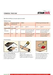 STAMISOL® PACK 500 - Naturalia Bau
