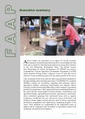 Framework for African Agricultural Productivity (FAAP) - FARA Africa - Page 7