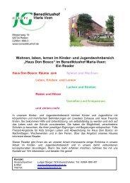 Haus Don Bosco - Benediktushof Maria Veen