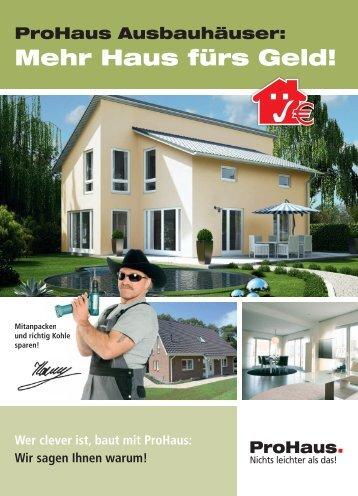 Haus fürs Geld! - Prohaus