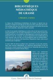 En savoir plus... - Bibliothèque et Médiathèques de la ville Grasse