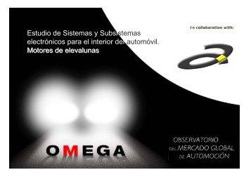 Estudio de Sistemas y Subsistemas electrónicos para el ... - OMEGA
