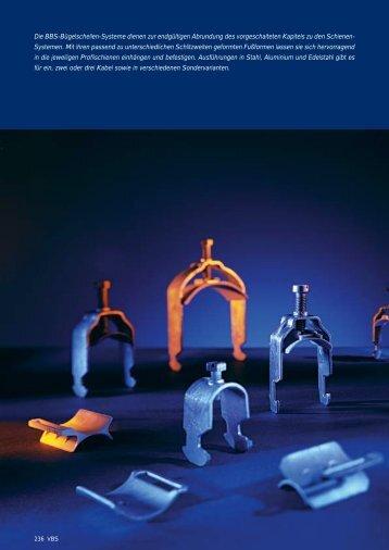 PDF Datei: Broschüre / OBO / Katalog VBS Bügelschellen