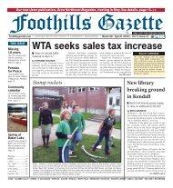 Gazette Vol 5 #12.indd - Foothills Gazette