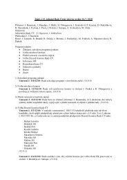 Zápis z 12. jednání Rady ČT
