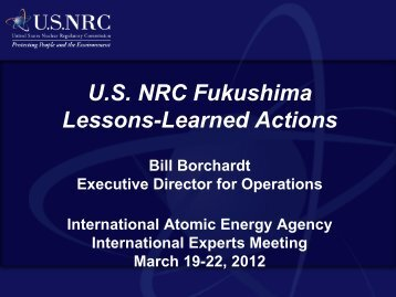 Borchardt - gnssn - International Atomic Energy Agency