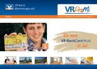 Schlüsselfundservice Wettbewerb ... - VR-Bank Memmingen eG