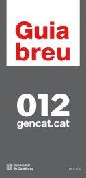 Guia breu gencat - Generalitat de Catalunya