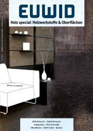 EUWID Holz special - EUWID Holz und Holzwerkstoffe