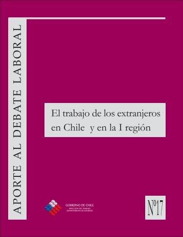 trabajadores extranjeros en Chile. - Dirección del Trabajo