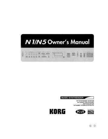 N 1/N5 Owner's Manual - Ugo Audio