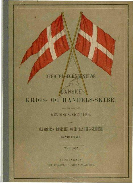 KRIGS- OG HANDELS-SKIBE.