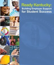 Ready Kentucky: Building Employer Support for Student...