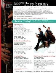 Pops Series - Florida Orchestra