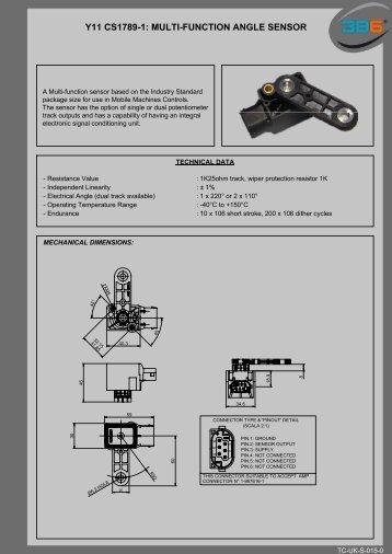 Y11 CS1789-1: MULTI-FUNCTION ANGLE SENSOR - 3b6.it