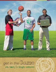 Future Dragons: Get in the Game!!! - St. Mary's High School