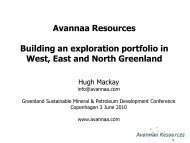 Building an exploration portfolio in west, east and north Greenland