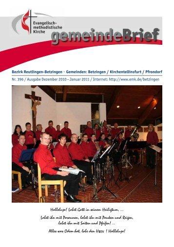 gemeindeBrief - EmK