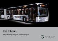 The Citaro G