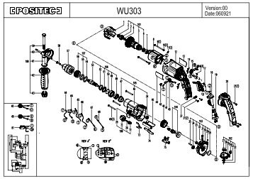 WU303 - Worx Power Tools