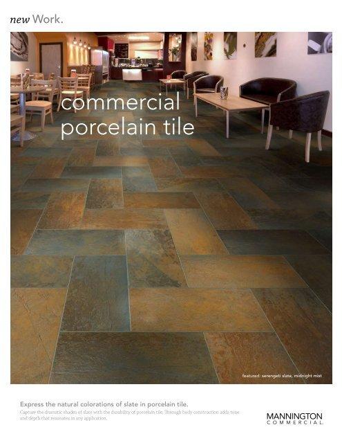 Commercial Porcelain Tile Mannington