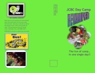 JCBC Day Camp