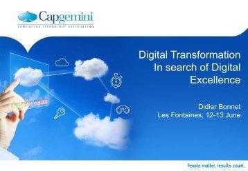Digital Transformation - Capgemini
