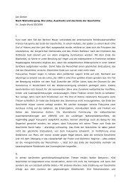 Jan Gerber Nach Weltuntergang. Die Linke ... - materialien-kritik
