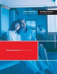 Transamerica CI Conservative Portfolio - CI Investments
